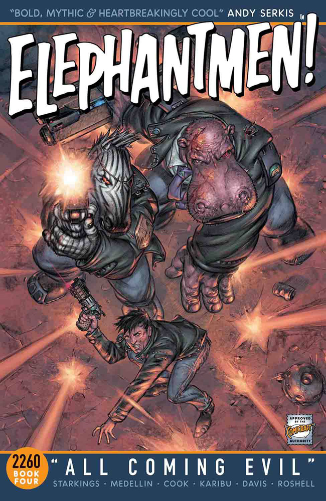 Image: Elephantmen 2260 Vol. 04: All Coming Evil SC  - Image Comics