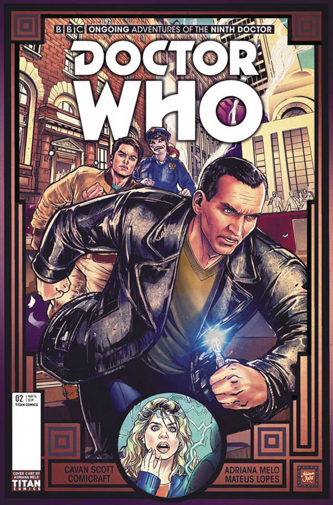 Image: Doctor Who: 9th Doctor #2 (cover C - Melo)  [2016] - Titan Comics