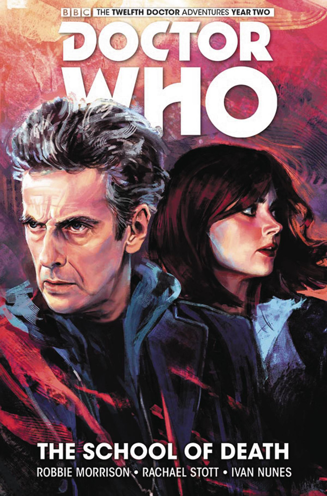 Image: Doctor Who: The 12th Doctor Vol. 04: The School of Death HC  - Titan Comics
