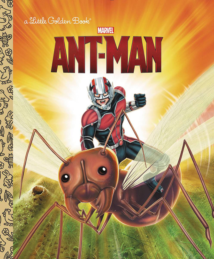 Image: Marvel Little Golden Book: Ant-Man  - Random House Books For Young R