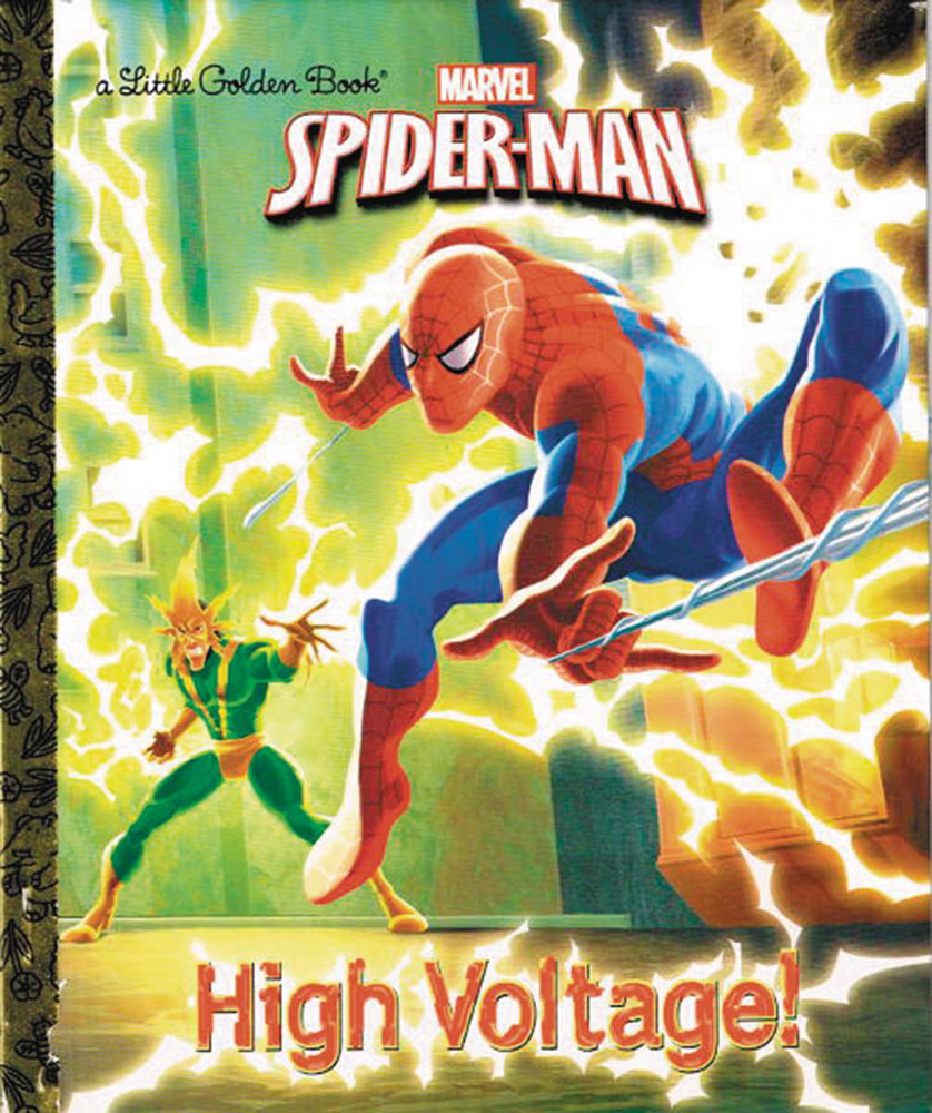 Image: Marvel Comics Little Golden Book: Spider Man - High Voltage!  - Random House Books For Young R