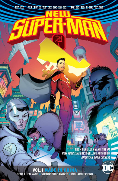 Image: New Super-Man Vol. 01: Made in China SC  - DC Comics
