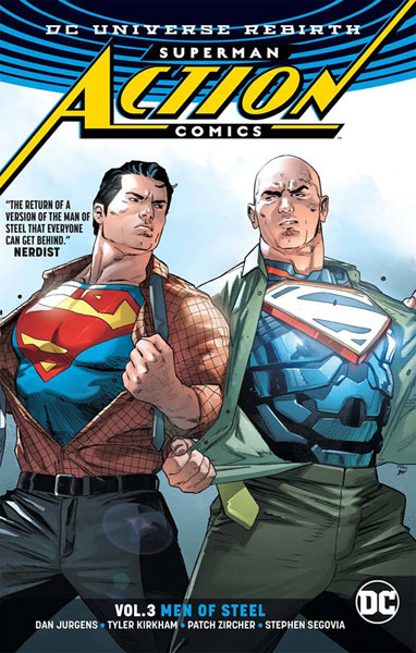 Image: Superman: Action Comics Vol. 03 - Men of Steel SC  - DC Comics