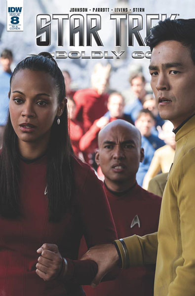 Image: Star Trek: Boldly Go #8 (photo incentive cover - 00841) (10-copy)  [2017] - IDW Publishing
