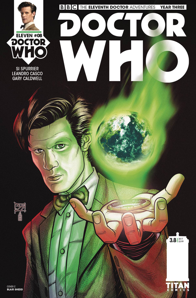 Image: Doctor Who: The 11th Doctor Year Three #8 (cover A - Shedd)  [2017] - Titan Comics