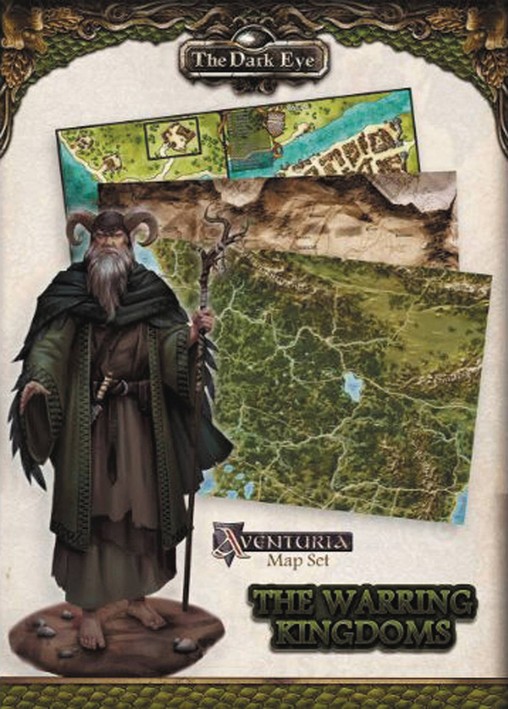 Image: Dark Eye: Warring Kingdoms Map Set  - Paizo, Inc