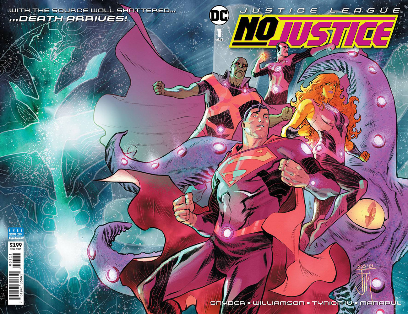 Justice League: No Justice #1  [2018] - DC Comics