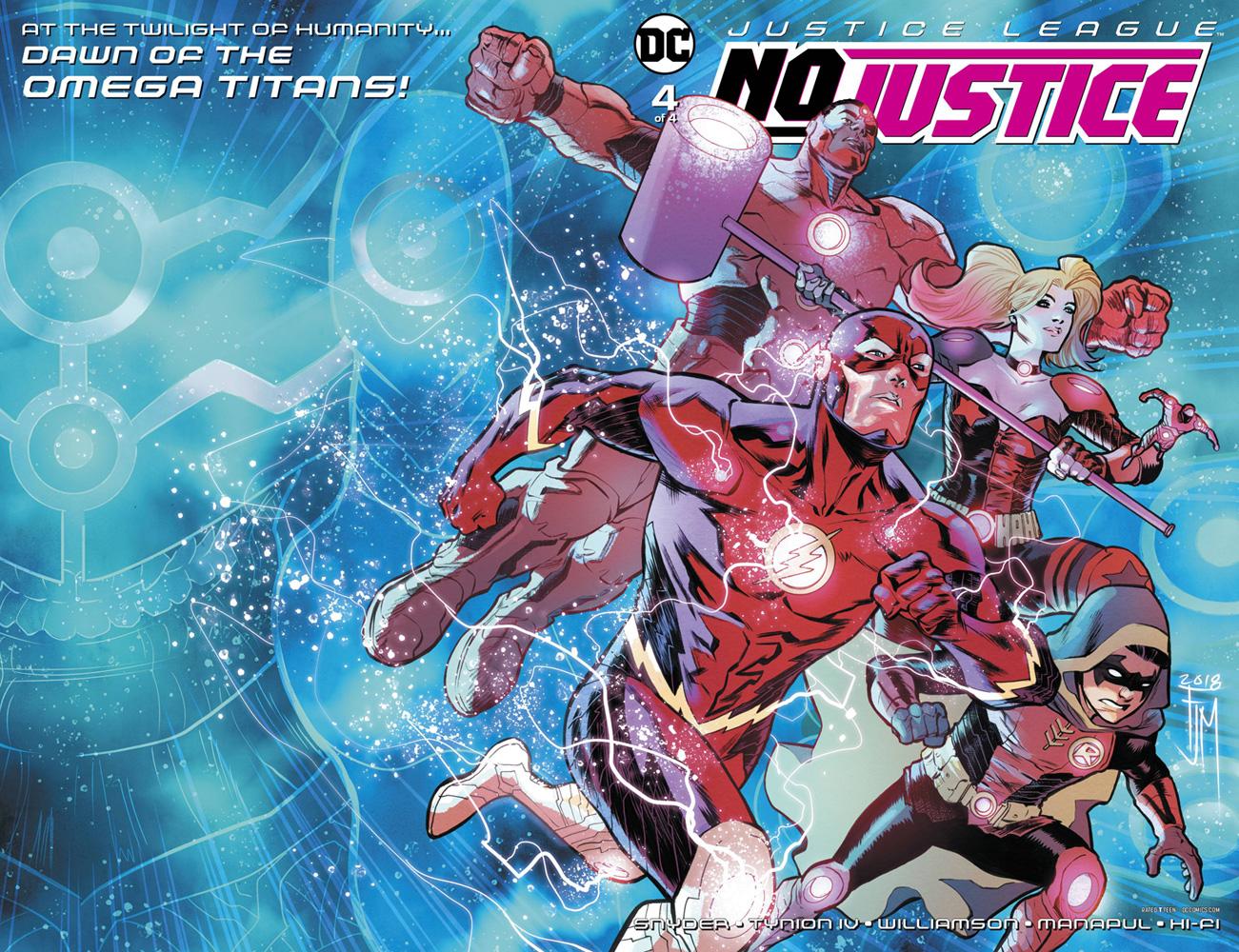 Justice League: No Justice #4  [2018] - DC Comics
