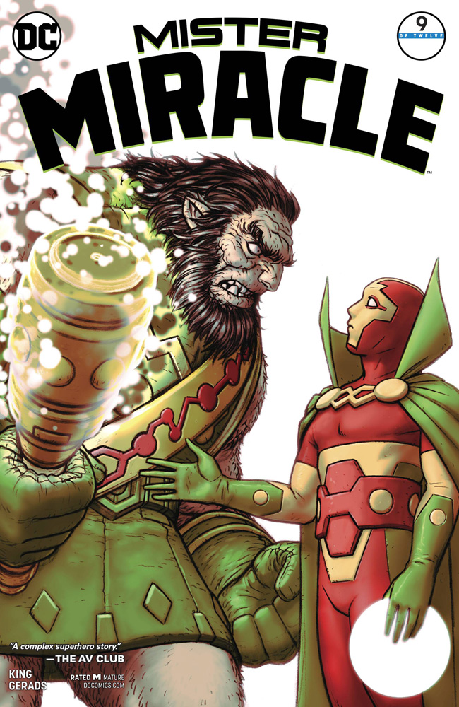 Image: Mister Miracle #9  [2018] - DC Comics