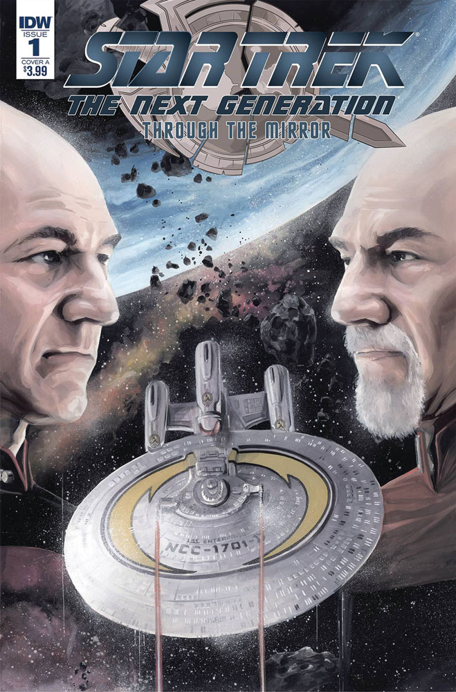 Image: Star Trek: The Next Generation: Through the Mirror #1 (cover A - Woodward)  [2018] - IDW Publishing