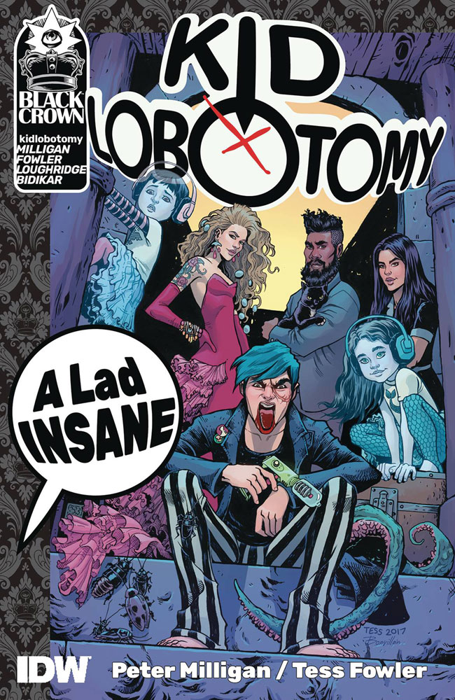 Image: Kid Lobotomy Vol. 01: A Lad Insane SC  - IDW Publishing