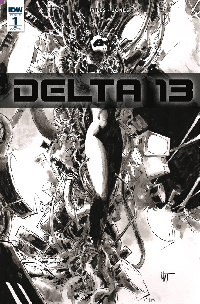 Image: Delta 13 #1 (incentive cover - Nat Jones) (10-copy)  [2018] - IDW Publishing