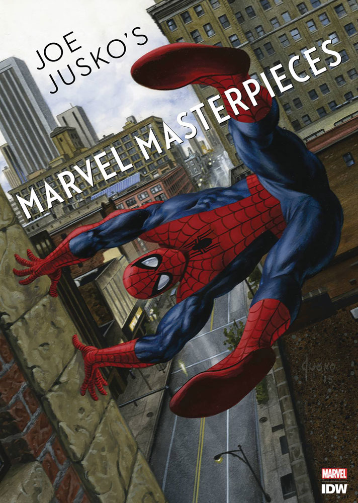 Image: Joe Jusko's Marvel Masterpieces HC  - IDW Publishing