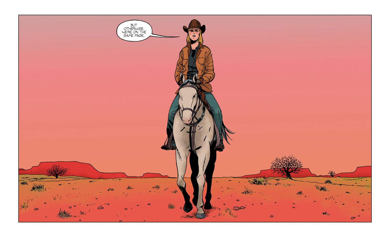 Barrier #1  [2018] - Image Comics