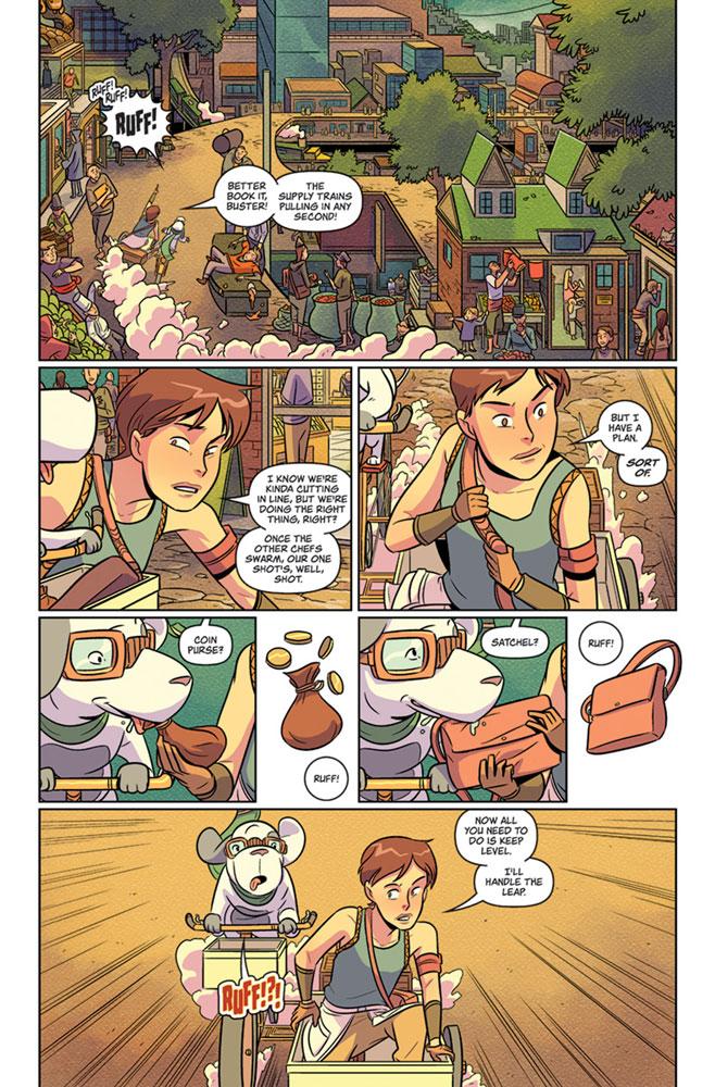 Flavor #1  [2018] - Image Comics