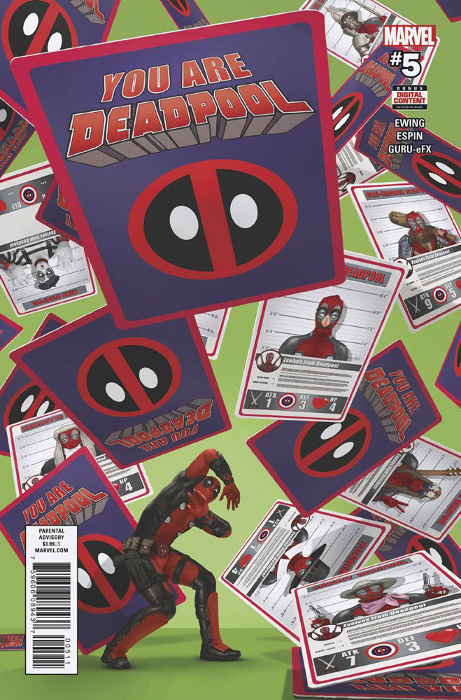 Image: You Are Deadpool #5  [2018] - Marvel Comics