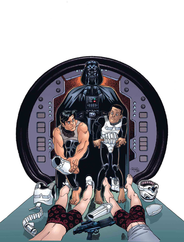 Image: Star Wars: Tag & Bink Were Here #1 - Marvel Comics