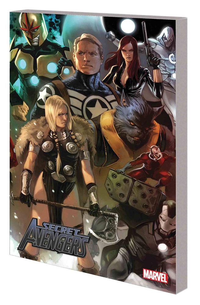 Image: Secret Avengers by Ed Brubaker: The Complete Collection SC  - Marvel Comics