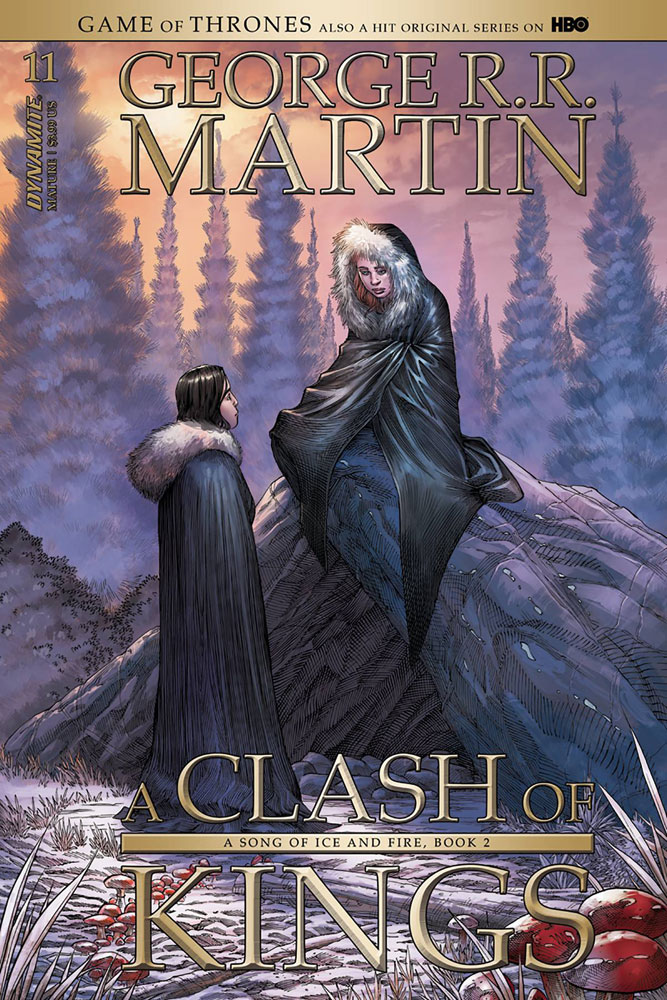 Image: George R. R. Martin's A Clash of Kings #11 (cover A - Miller)  [2018] - Dynamite