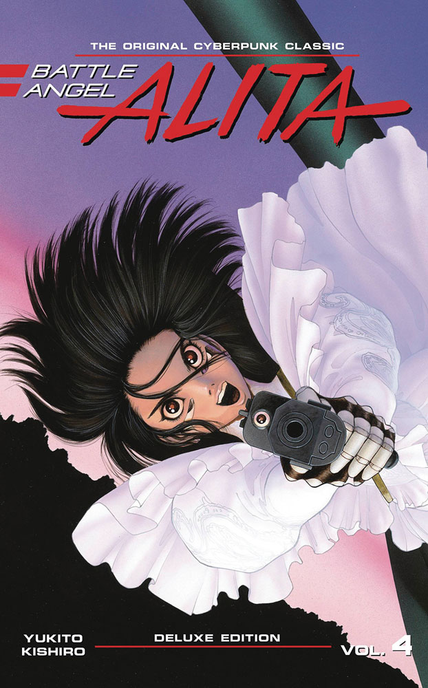 Battle Angel Alita Deluxe Edition Vol. 4