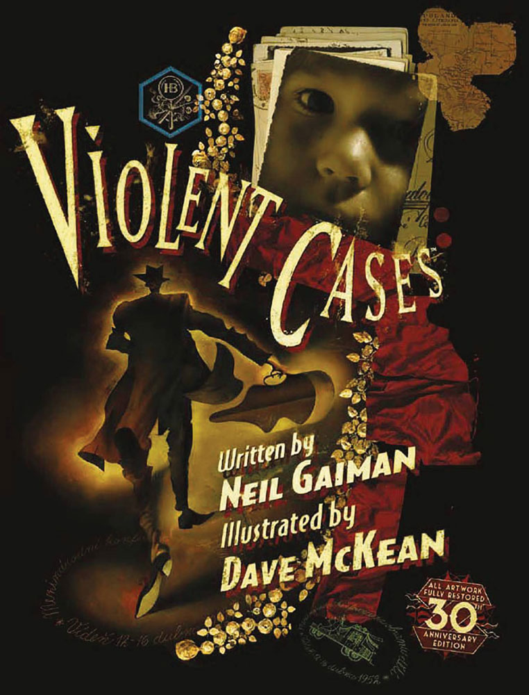 Image: Violent Cases 30th Anniversary Edition HC  - Titan Books