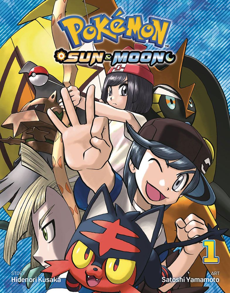 Image: Pokemon: Sun & Moon Vol. 01 SC  - Viz Media LLC