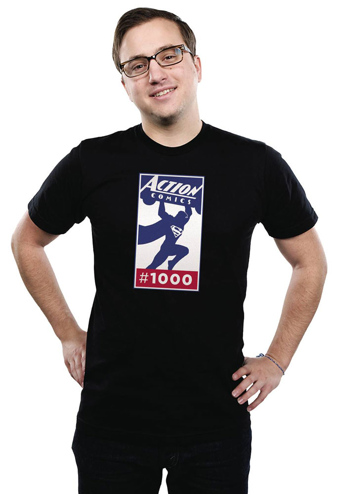 Image: Action #1000 T-Shirt: Logo  (M) - Graphitti Designs