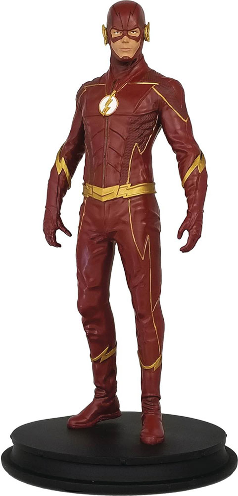 Image: Flash Season Four Collectible Statue  - Icon Heroes