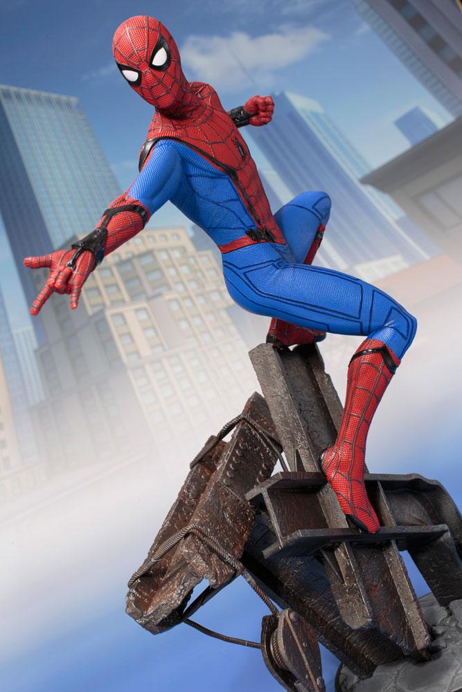 Spider-Man Homecoming ArtFX Statue: Spider-Man  - Koto Inc.