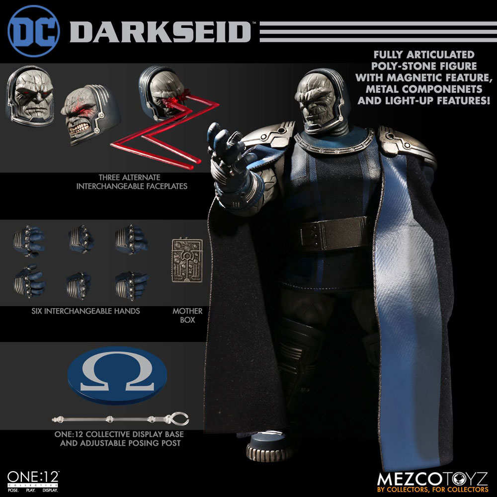 DC One:12 Collective Action Figure: Darkseid  - Mezco Toys