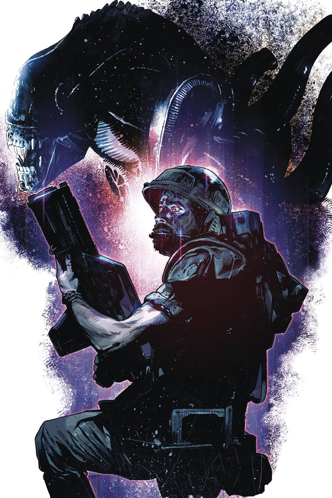 Image: Aliens: Rescue #1 (cover B - Chater) - Dark Horse Comics
