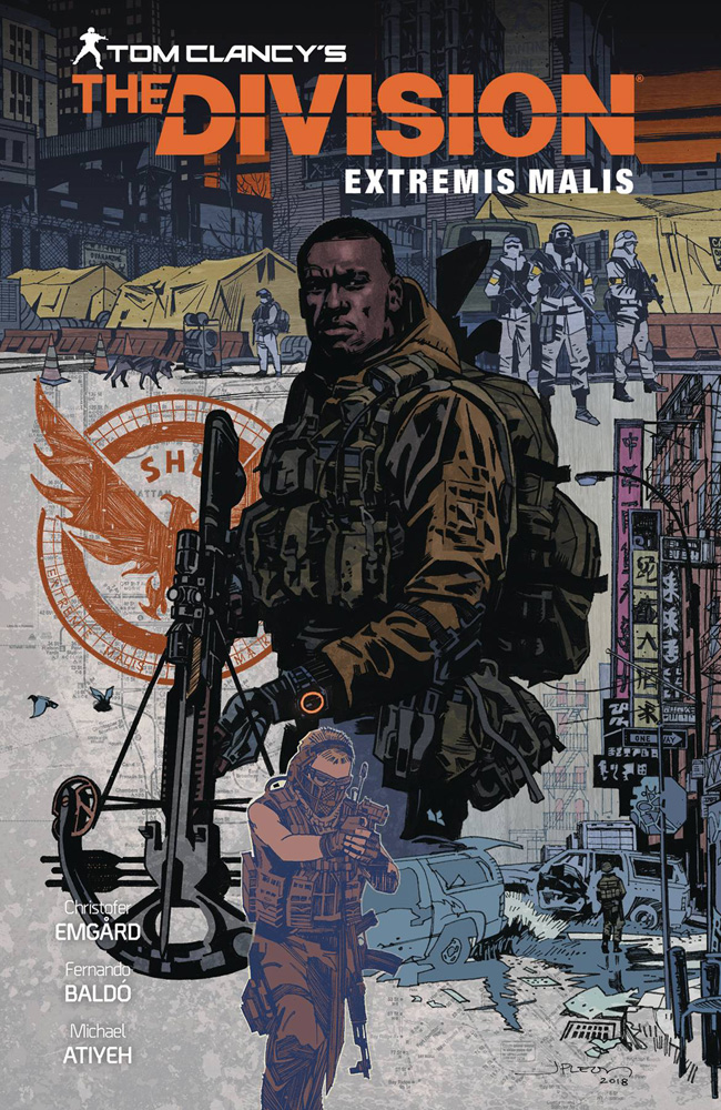 Image: Tom Clancy's The Division: Extremis Malis HC  - Dark Horse Comics