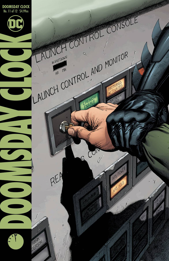 Image: Doomsday Clock #11 - DC Comics