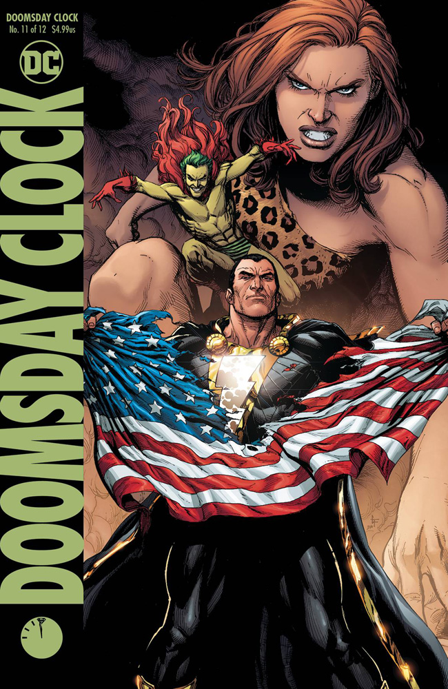 Image: Doomsday Clock #11 (variant cover) - DC Comics