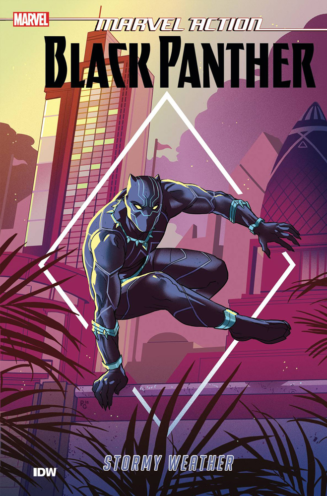 Image: Marvel Action: Black Panther Book 01 Stormy Weather SC  - IDW Publishing