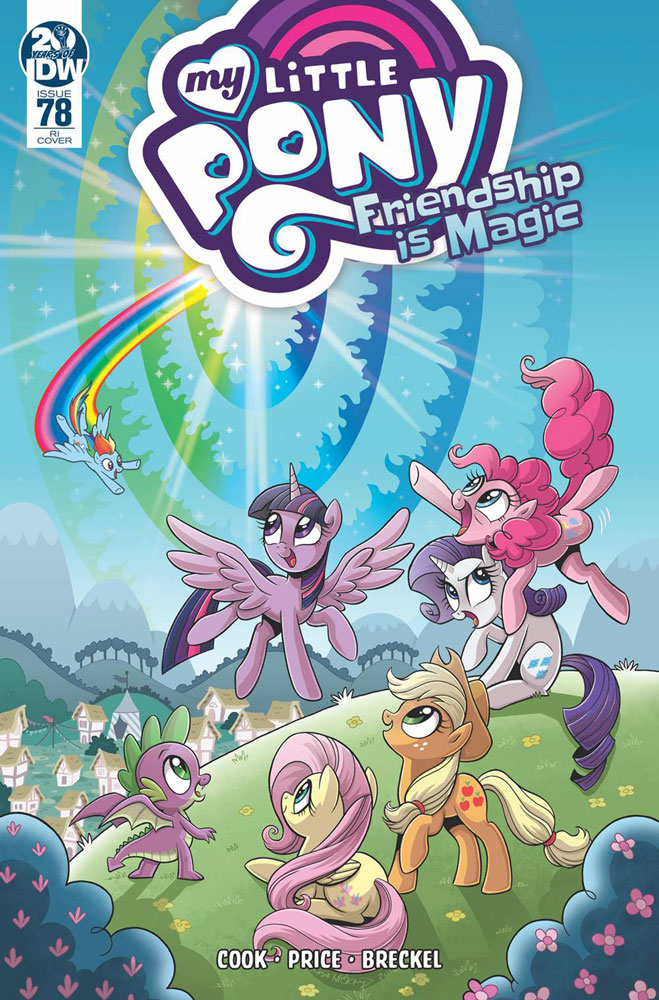 Image: My Little Pony: Friendship Is Magic #78 (incentive cover - Hickey) (10-copy)  [2019] - IDW Publishing