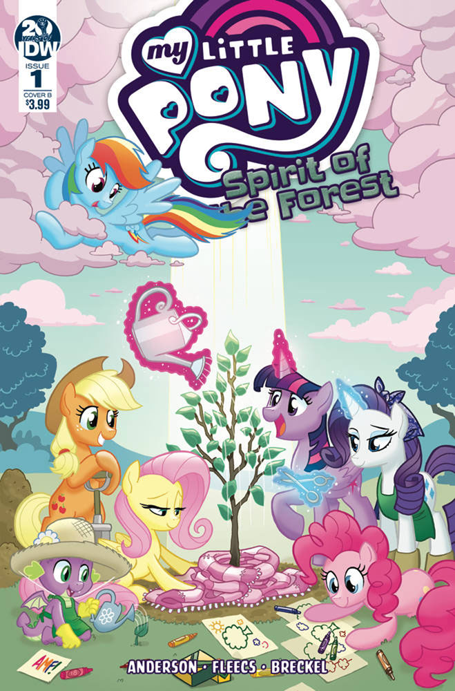 Image: My Little Pony: Spirit of the Forest #1 (cover B - Fleecs) - IDW Publishing