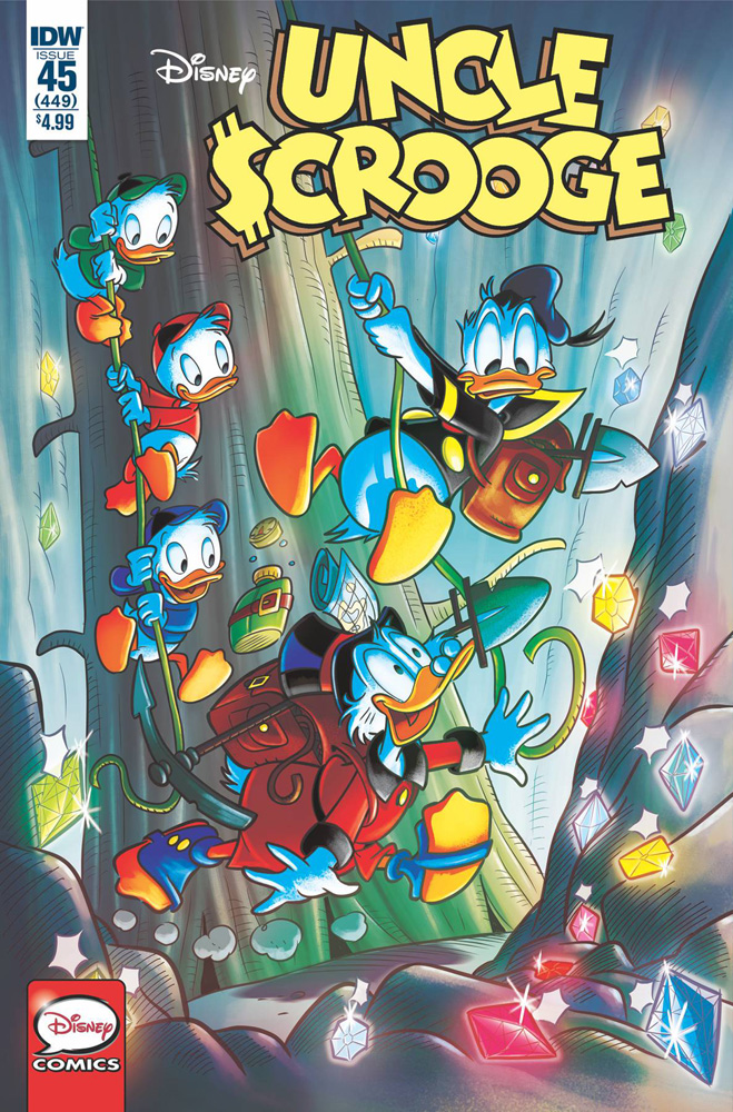 Image: Uncle Scrooge #45  [2019] - IDW Publishing