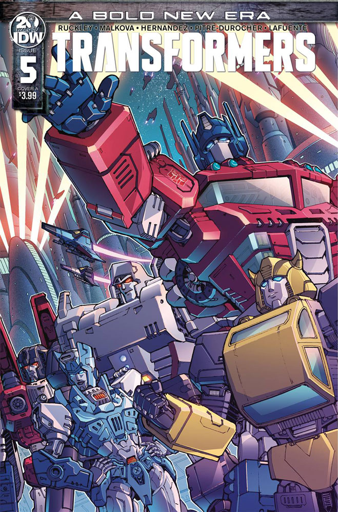 Image: Transformers #5 (cover A - Griffith) - IDW Publishing