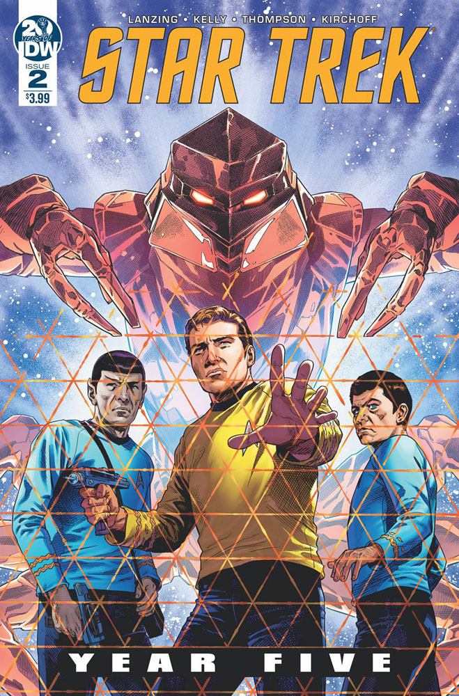Image: Star Trek: Year Five  #2 - IDW Publishing