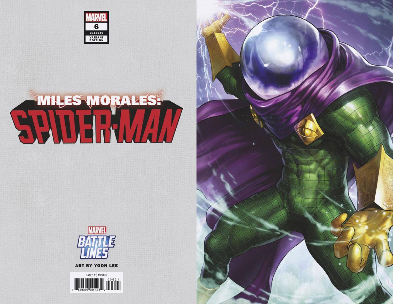Miles Morales: Spider-Man #6 (variant Marvel Battle Lines cover - Yoon Lee) - Marvel Comics