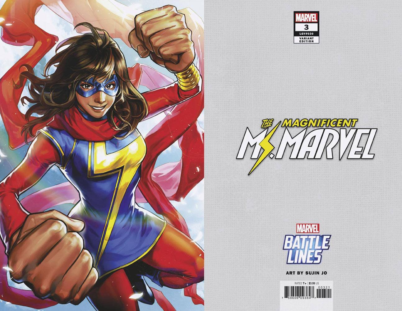 Magnificent Ms. Marvel #3 (variant Marvel Battle Lines cover - Sujin Jo) - Marvel Comics