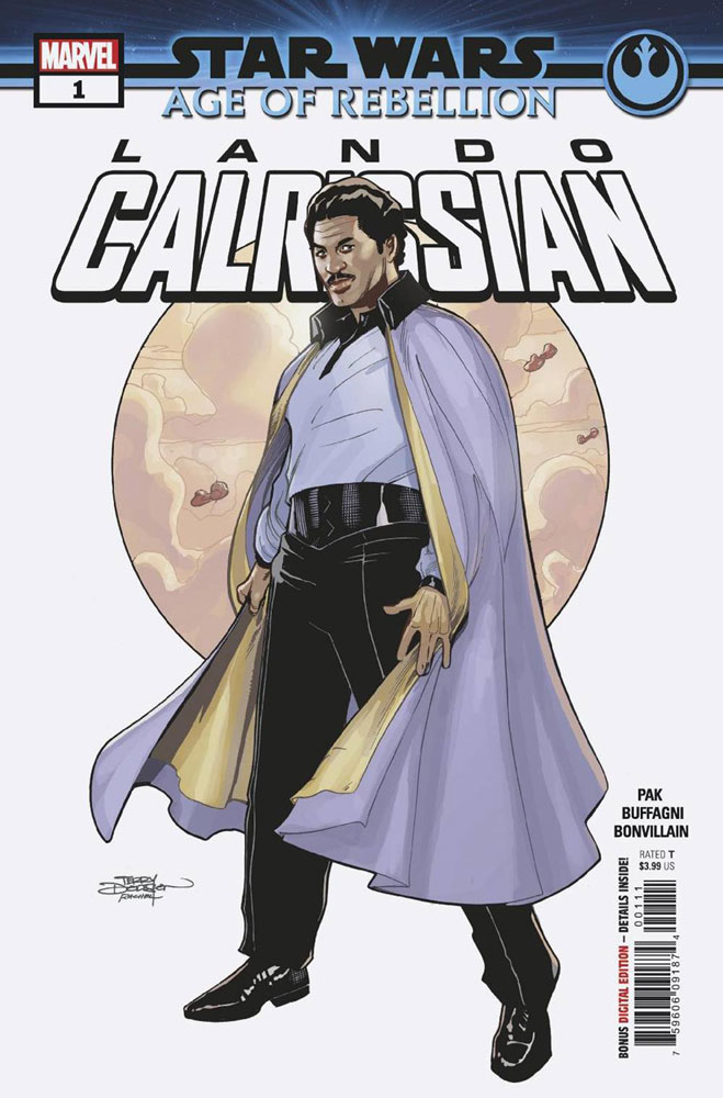 Image: Star Wars: Age of Rebellion - Lando Calrissian #1 - Marvel Comics
