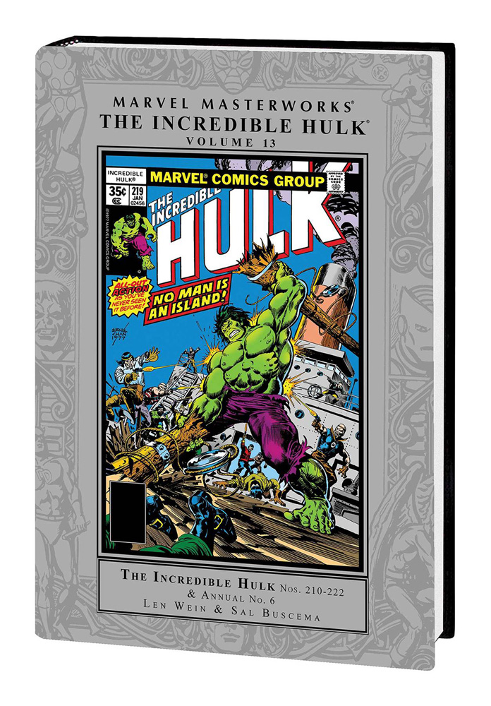 Image: Marvel Masterworks: The Incredible Hulk Vol. 13 HC  - Marvel Comics