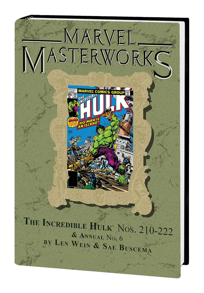 Image: Marvel Masterworks: Incredible Hulk Vol. 13 HC  (DM variant cover) (279) - Marvel Comics