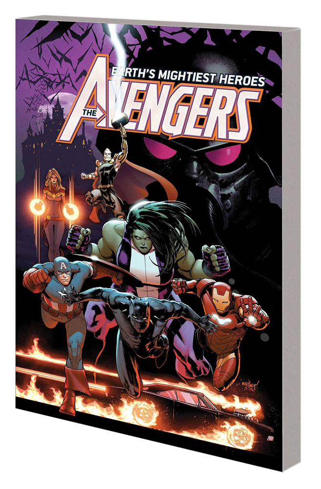 Image: Avengers by Jason Aaron Vol. 03: War of the Vampires SC  - Marvel Comics
