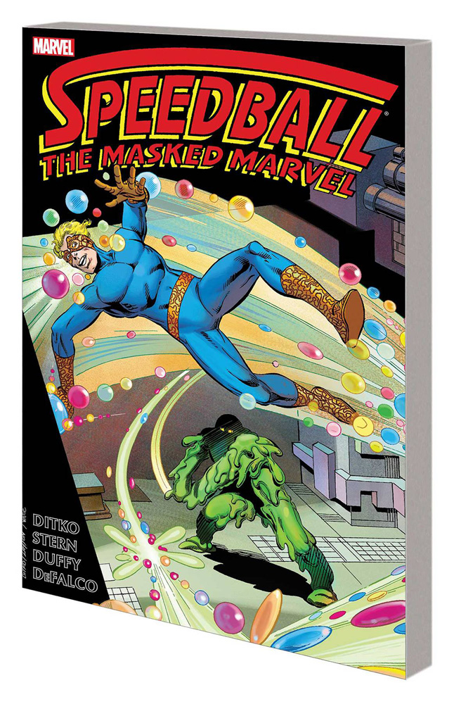 Speedball the Masked Marvel