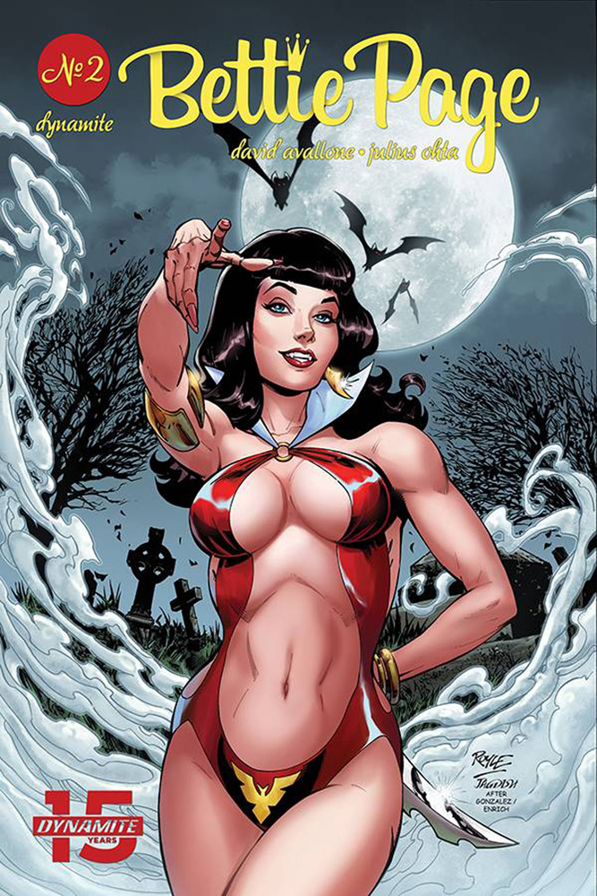 Image: Bettie Page: Unbound Vol. 03 #2 (cover A - Royle) - Dynamite