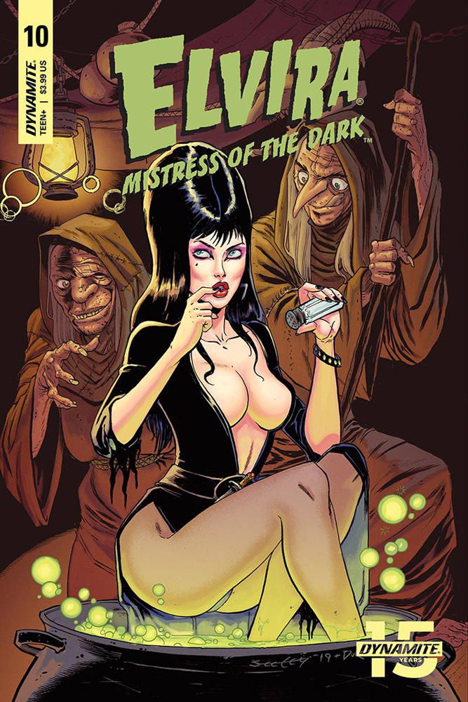 Image: Elvira: Mistress of the Dark #10 (cover A - Seeley)  [2019] - Dynamite