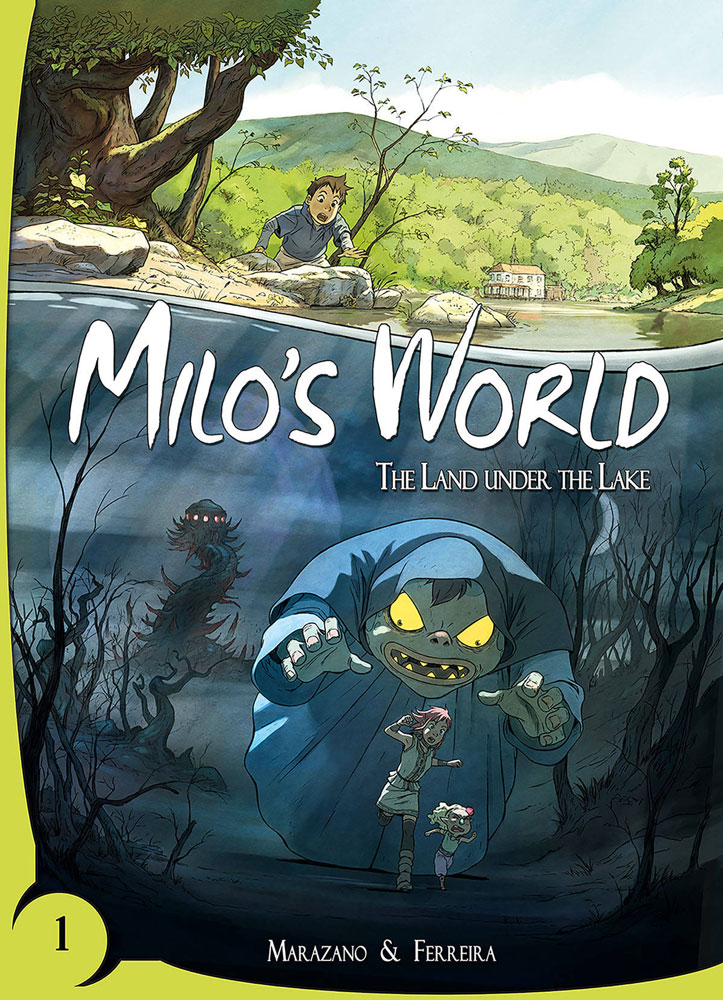 Image: Milo's World Vol. 01: The Land Under the Lake HC  - Lion Forge